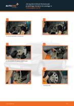Jak wymienić klocki hamulcowe przedniego hamulca tarczowego w Volkswagen Golf III