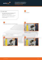 Jak wymienić amortyzatory zawieszenia przedniego w Volkswagen Golf III