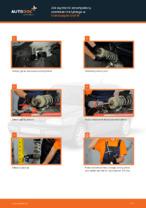 Jak wymienić amortyzatory zawieszernia tylnego w Volkswagen Golf III