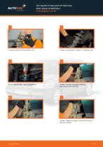 Jak wymienić mocowanie kolumny resorującej przedniej w Volkswagen Golf III