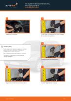 Jak wymienić mocowanie kolumny resorującej tylnej w Volkswagen Golf III