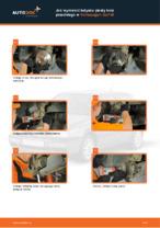 Jak wymienić łożysko piasty koła przedniego w Volkswagen Golf III