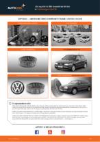 Jak wymienić filtr powietrza silnika w Volkswagen Golf III