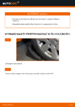 Jak wymienić dolne ramię w przednim niezależnym zawieszeniu w Volkswagen Golf V (1K)