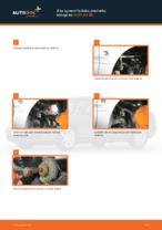 Výmena predné vľavo vpravo Lozisko kolesa AUDI A4 (8D2, B5): tutorial pdf