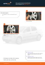Ako vymeniť prednú stabilizačnú tyčku/spojenie na Opel Astra G