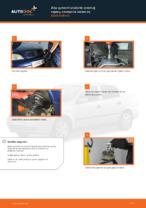 Ako vymeniť uloženie prednej vzpery zavesenia kolies na Opel Astra G