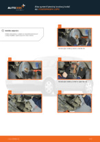 Montáž Brzdový kotouč VW LUPO (6X1, 6E1) - krok za krokom príručky
