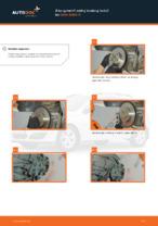 OPEL Brzdový kotouč zadné a predné vymeniť vlastnými rukami - online návody pdf
