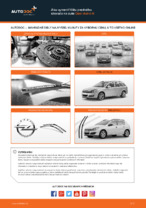 Ako vymeniť lištu predného stierača na aute Opel Astra H