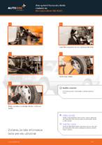 Montáž Čap riadenia MERCEDES-BENZ 190 (W201) - krok za krokom príručky