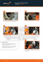 Ako vymeniť predné vľavo vpravo Lozisko kolesa na AUDI A4 Avant (8ED, B7) - manuály online
