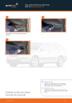 SKODA - opravte manuály s ilustráciami