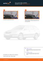 Ako vymeniť lištu predného stierača na aute Skoda Octavia 1Z