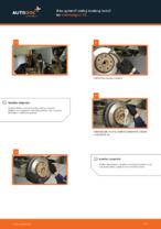 Výmena Silentblok Stabilizátora VW TRANSPORTER V Platform/Chassis (7JD, 7JE, 7JL, 7JY, 7JZ, 7FD): tutorial pdf