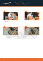 Online návod, ako svojpomocne vymeniť Brzdový kotouč na aute AUDI 80 (8C, B4)