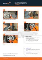 Výmena predné a zadné Brzdové Platničky AUDI 80 (8C, B4): tutorial pdf