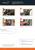 Príručka o výmene Drżiak ulożenia stabilizátora v CITROËN C6 2011 vlastnými rukami