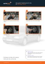 Ako vymeniť zadné bubnové brzdy na Volkswagen Golf III