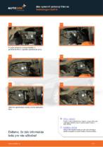 Ako vymeniť palivový filter na Volkswagen Golf III