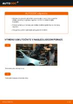 PDF návod na výmenu: Brzdové doštičky FIAT PUNTO (188) zadné a predné