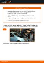 PDF návod na výmenu: Brzdový kotouč FIAT PUNTO (188) zadné a predné