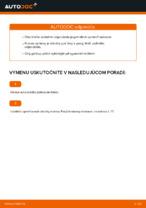 Ako vymeniť tlmiče zadnej nápravy na VOLKSWAGEN GOLF V (1K)