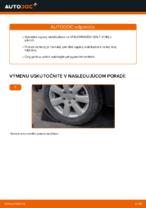 Ako vymeniť zadnú vzperu stabilizátora na Volkswagen Golf V (1K)