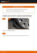 Ako vymeniť spodné rameno predného nezávislého zavesenia kolies na Volkswagen Golf V (1K)