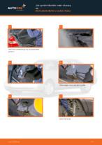 Jak vyměnit tlumiče zadní nápravy na MERCEDES-BENZ C-CLASS W202