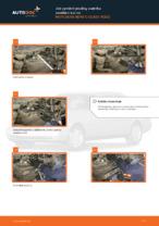 Jak vyměnit pružiny zadního zavěšení kol na MERCEDES-BENZ C-CLASS W202