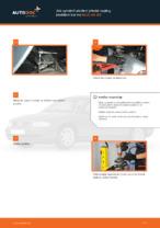 Jak vyměnit uložení přední vzpěry zavěšení kol na AUDI A4 В5