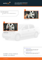 Jak vyměnit přední stabilizační tyčku/spojení na Opel Astra G