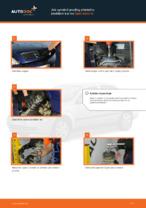 Jak vyměnit pružiny předního zavěšení kol na Opel Astra G