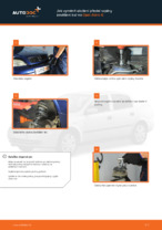 Jak vyměnit uložení přední vzpěry zavěšení kol na Opel Astra G