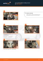Jak vyměnit přední brzdový kotouč na Opel Astra H