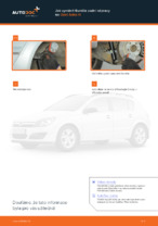Jak vyměnit tlumiče zadní nápravy na Opel Astra H