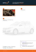 Jak vyměnit přední stabilizační tyčku/spojení na Opel Astra H