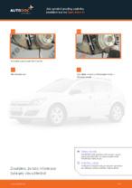 Jak vyměnit pružiny zadního zavěšení kol na Opel Astra H