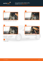Jak vyměnit uložení přední vzpěry zavěšení kol na Opel Astra H