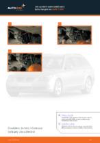 Jak vyměnit zadní stabilizační tyčku/spojení na BMW 5 E60