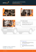 Jak vyměnit a regulovat Brzdové Destičky MERCEDES-BENZ 190: průvodce pdf