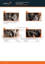 Naučte se jak opravit problémy s přední levý Zkrutna tyc MERCEDES-BENZ