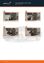 Instalace Lozisko kola PEUGEOT 406 Break (8E/F) - příručky krok za krokem