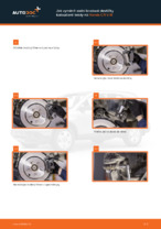 Jak vyměnit přední a zadní Brzdové Destičky HONDA udělej si sám - online návody pdf