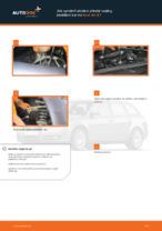 Jak vyměnit uložení přední vzpěry zavěšení kol na Audi A4 В7
