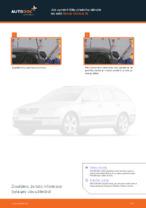 Jak vyměnit lištu předního stěrače na autě Skoda Octavia 1Z
