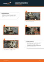 Jak vyměnit přední brzdové destičky kotoučové brzdy na Volkswagen T5