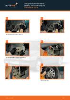 Jak vyměnit přední brzdové destičky kotoučové brzdy na Volkswagen Golf III