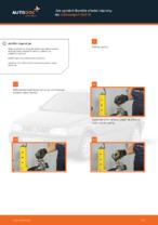 Jak vyměnit tlumiče přední nápravy na Volkswagen Golf III